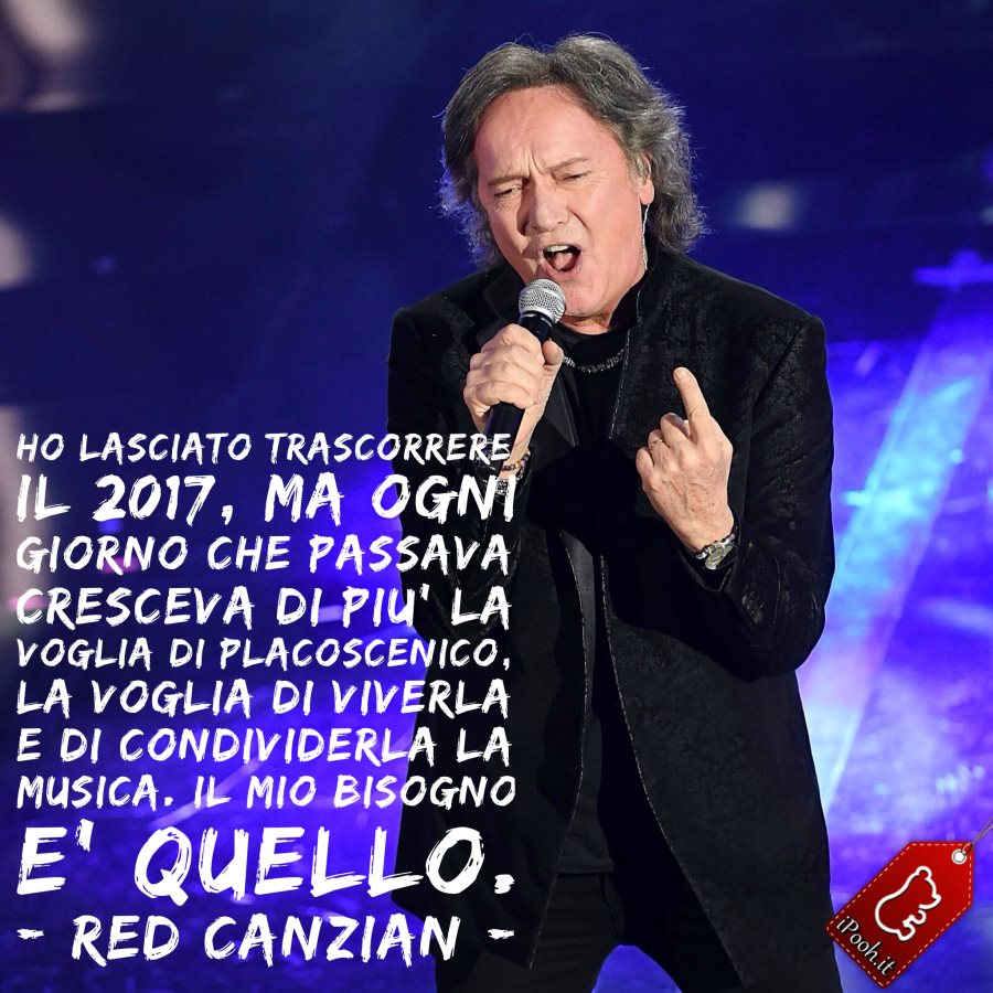 Red Canzian a Sanremo