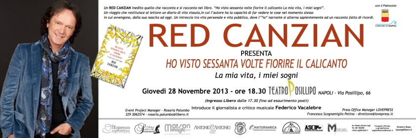 Red Canzian a Napoli