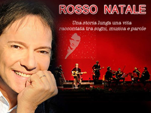 Red Canzian e Rosso Natale